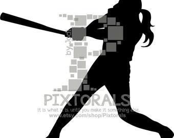 Baseball Player Svg Baseball Vector Design For Silhouette
