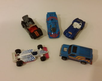 Vintage Hotwheels, Matchbox, and Kenner toy cars 1980's
