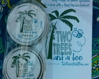 Gift Package with 2 Hand Fix. Deeply healing, naturally made hand repair balm made by a nurse. Free Shipping.