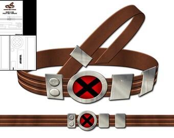 Template for Rogue X-Men Utility Belt