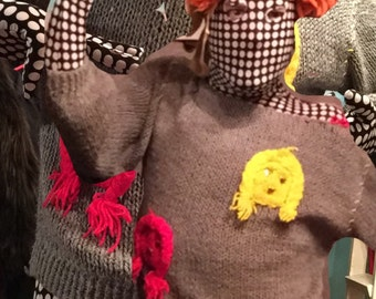 Shiny Happy people sweater
