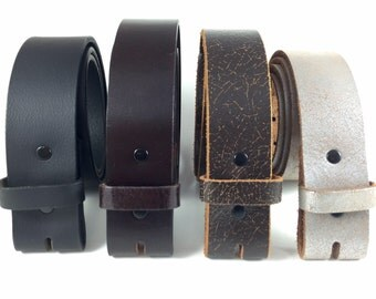 Leather Snap Belts, Leather belts, Soft leather