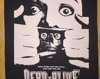 Dead Alive Cloth Back Patch