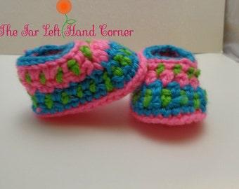 Crochet Galilee Booties