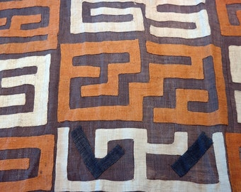 African Kuba Cloth/textile Kc014