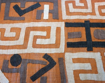 African Kuba Cloth/textile Kc012