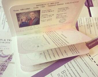 PASSPORT & BOARDING Card SAMPLE