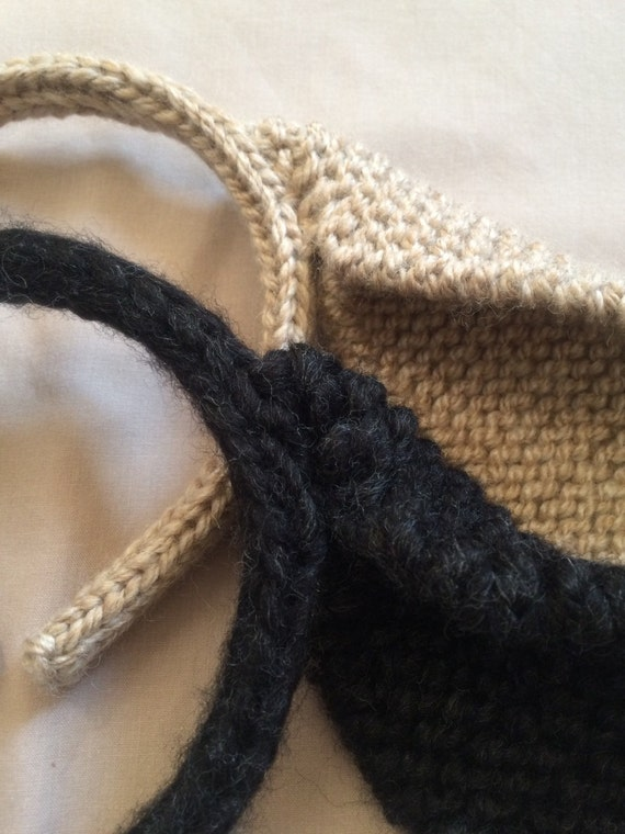 Knitting Pattern Rabbit Ears : Pattern pdf knitted rabbit ears headband animal hair