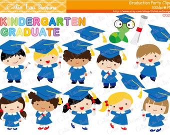 Blue Graduation Clipart