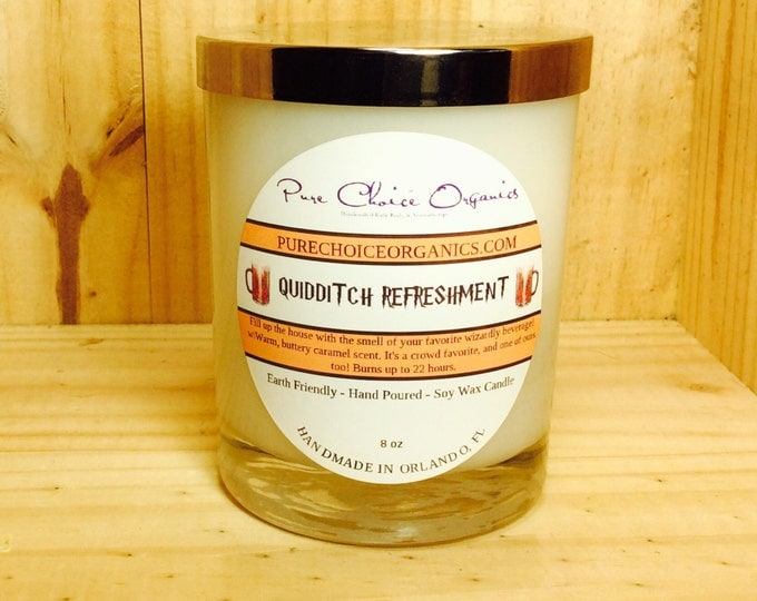 Featured listing image: Quidditch Refreshment Butter Beer Soy Wax Candles Holiday Gift BOGO Sale! Buy2 Get1