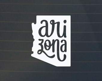 Arizona Car Decal - Arizona Decal - Arizona Sticker