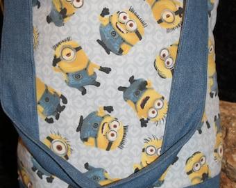 Minion Fabric Tote Bag