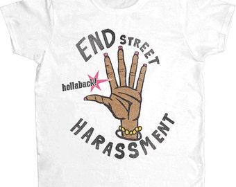 End Street Harassment -- Women's T-Shirt