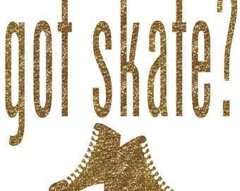 Got Skate Iron On Decal