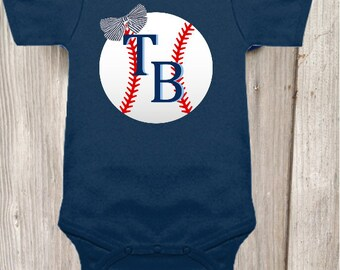 Tampa Bay Rays Inspired Bodysuit for Baby Girl