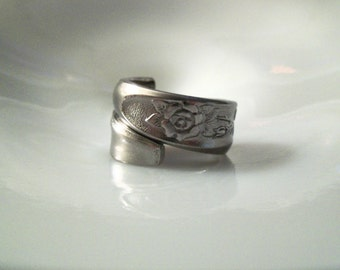Spoon Ring-- Size 9.75