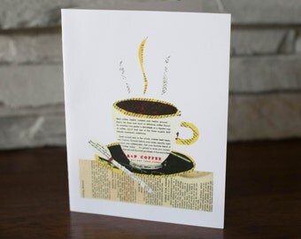 Coffee Cup Note Cards