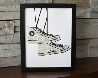 Converse Sneakers Print