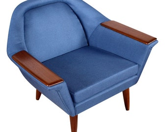 Restored Mid Century Modern Emco Mobler Arm Chair
