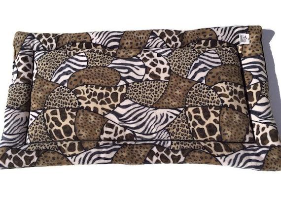 Large Dog Bed, Dog Crate Mats, Kennel Dog Pad, African Decor, Safari Fabric, Crate Pet Mats, Pet Bed, Extra Large Dog Bed, XL Crate Dog Mat