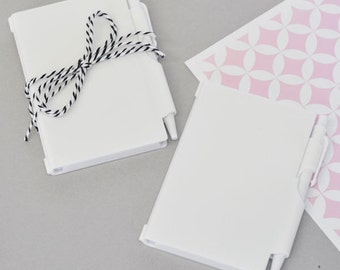 DIY Blank Notebook Favors
