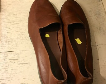Womens brown loafers