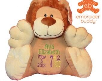 Personalized Stuffed Lion