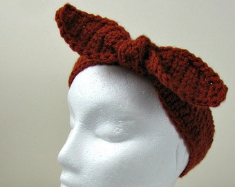 Retro Headband, Retro Headwrap, Bow Headband, Head Scarf, Hair Accessory, Teens Gift Ideas