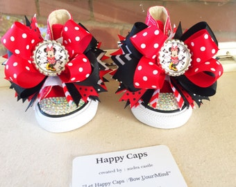 Minnie Mouse Shoe Toppers