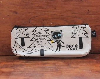 kawaii kitty cat Pencil Case