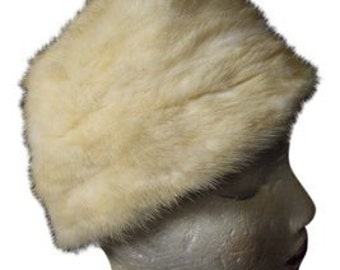 vintage Cecile New York mink hat