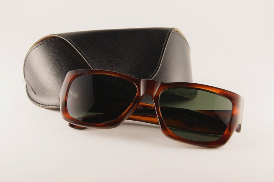8727716517b98 ... clearance ray ban clubmaster history vintage 80s blue trimmed ray ban  wayfarer sunglasses 4e893 4b21a