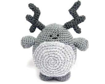 Morris the Monster Amigurumi Crochet Pattern