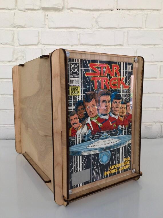 comic book storage and display box. Black Bedroom Furniture Sets. Home Design Ideas