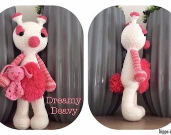 Dreamy Leslie hug monster crochet/Crochet monster