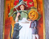 on sale RARE Collectible Antique Halloween Post Card Nash Keyhole
