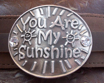 Pewter You Are My Sunshine Bracelet