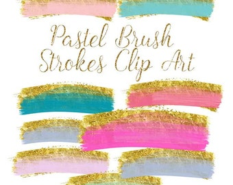brush strokes clip art, gold brush clipart, gold paint clipart, wedding gold Paint Clipart, gold ink strokes clipart, watercolor clip art