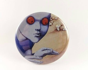 "2.25"" Fantastic Planet button or magnet"