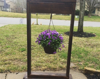 Hanging plant stand, patio decorations,