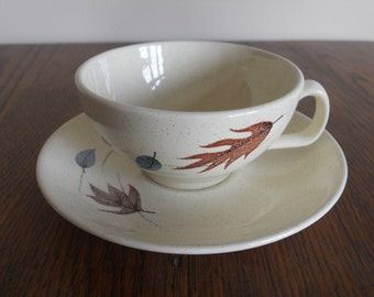 Franciscan Autumn Coffee Cup and Saucer