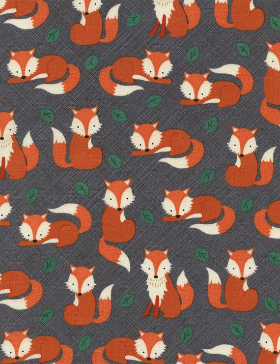 Woodland Fox Fabric Timeless Treasures Let S Get Nutty