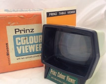 Prinz Colour Viewer by Dixons. Slide viewer with original box and instructions. Working order
