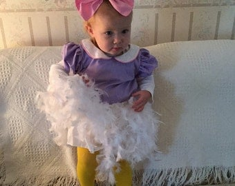 Daisy Duck Costume, Daisy Duck Party, Daisy Duck Outfit, Daisy Birthday