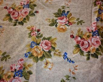 Pretty floral cotton fabric Hobby Lobby