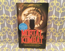 Mortal Kombat by Martin Delrio video game movie tie in novelization Vintage Paperback Book