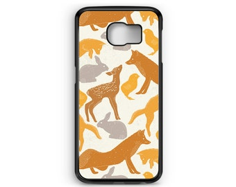 Phone Case Cute Animal Pattern for Samsung Galaxy S4, S5, S6, S6 EDGE, S6 EDGE Plus, S7 and S7 EDGE