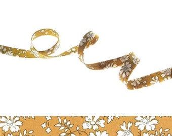 Capel G Liberty bias binding 1x Yard, 10mm wide, Liberty fabric, bias binding UK, sewing supplies, jewellery making materials