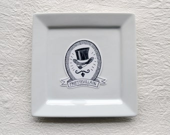 The Fayettevillain Sticker