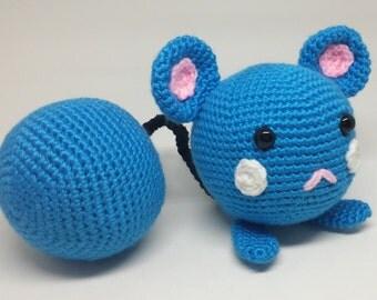 Crochet Pokemon Azurill Amigurumi